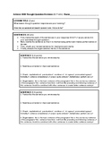 Paragraph Revision Worksheet