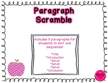 Paragraph Scramble