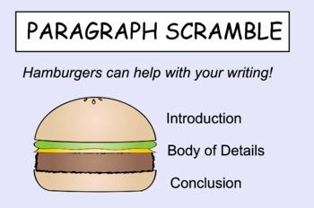 Paragraph Scramble Smartboard