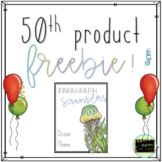 Paragraph Scrambler Activity or Center *50th Product Freebie!*
