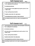 Paragraph Self-Assessment
