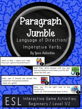 Language of Direction Paragraph Sequencing