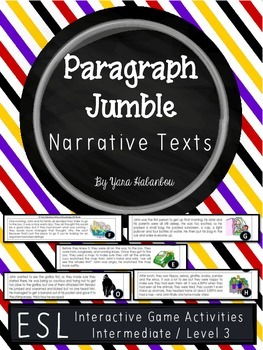 Narrative Texts Story Sequencing