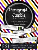 Past Continuous and Past Simple Texts & Verbs Paragraph Se