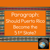 Paragraph: Should Puerto Rico Become the 51st State?