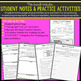 Paragraph Writing Lesson and Activities with Paragraph Graphic Organizers