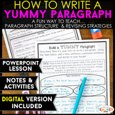 Paragraph Writing Lesson and Activities with Paragraph Gra