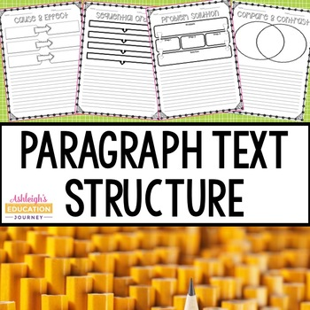 Paragraph Text Structure-Writing Lessons