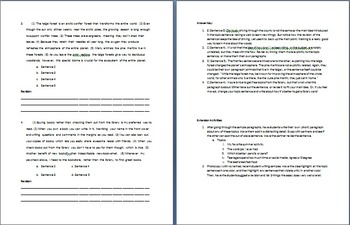 Unity: How to write a body paragraph for expository and research writing