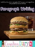 Junior High - How to Write a Paragraph - Hamburger Style!