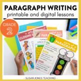 Paragraph Writing Activities & Lessons: PRINTABLE & DIGITA
