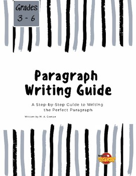 Paragraph Writing Booklet
