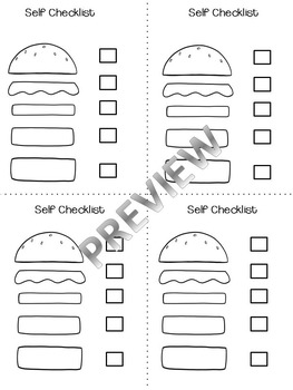 Paragraph Writing- Burger