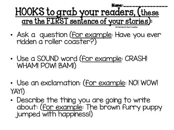 Paragraph Writing Complete Lesson Packet - 2nd 3rd 4th grade