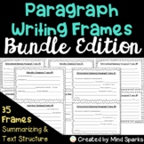 Paragraph Writing Frames **Bundle**