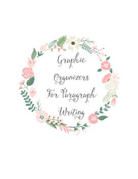 Paragraph Writing Graphic Organizer