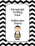 Paragraph Writing- Halloween Theme