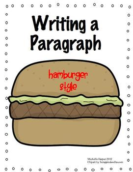 Paragraph Writing Hamburger Style by michelle harper | Teachers ...