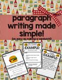 Paragraph Writing Homework Journal