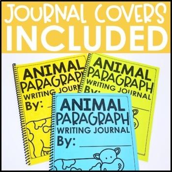Paragraph Writing Journal: ANIMAL EDITION