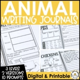 Paragraph Writing Journal: ANIMAL EDITION
