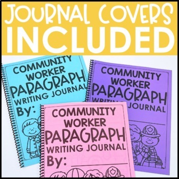 Paragraph Writing Journal: COMMUNITY HELPER EDITION