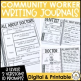 Paragraph Writing Journal: COMMUNITY HELPER EDITION