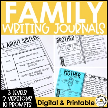 Paragraph Writing Journal: FAMILY EDITION