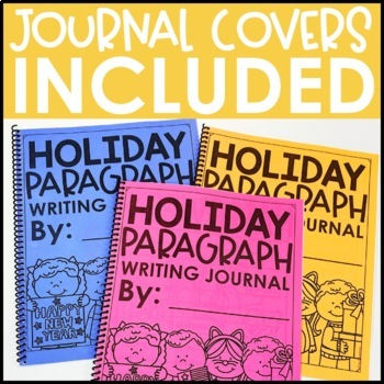 Paragraph Writing Journal: HOLIDAY EDITION