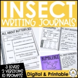 Paragraph Writing Journal: INSECT EDITION
