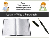 Paragraph Writing Lesson 1 PowerPoint