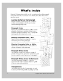 Paragraph Writing Overview (For Teachers)