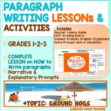 How to Write a Paragraph Writing Lesson Activity Ground Hogs Day
