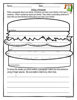 Paragraph Writing Practice