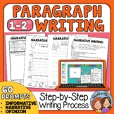 Paragraph of the Week, Paragraph Writing with 60 Writing Prompts for Grades 1-2