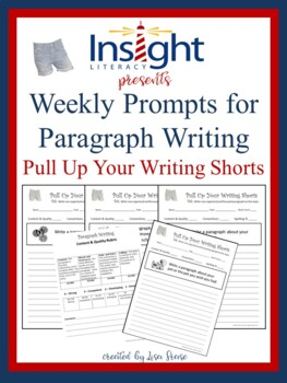 Paragraph Writing Prompts & Rubrics