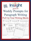 50 Paragraph Writing Prompts Plus Grading Rubrics