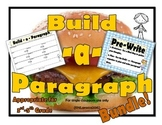 Paragraph Writing Prompts, Lesson, Writing Process Posters, Organizers and more!