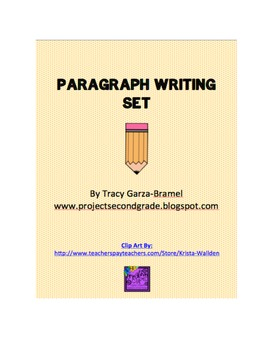Paragraph Writing Set- primary
