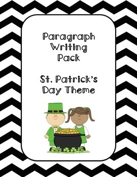 Paragraph Writing: St. Patrick's Day Theme