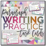 Paragraph Writing TASK CARDS