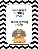 Paragraph Writing- Thanksgiving Theme