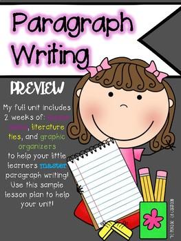Paragraph Writing Unit {{freebie}}
