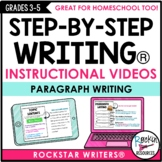 Paragraph Writing Video Bundle | Distance Learning