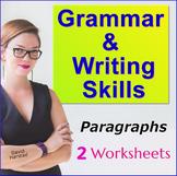 Grammar Worksheets (3rd Grade, 4th Grade, 5th Grade, 6th Grade) - Paragraphs
