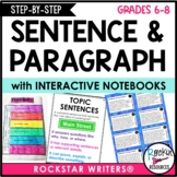 Paragraph Writing and Sentence Structure for Middle School