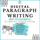 Paragraph Writing for Different Forms of Writing   DIGITAL