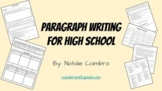 Paragraph Writing for High School