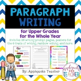 Paragraph Writing for Upper Grades for the Whole Year