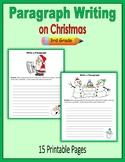 Paragraph Writing on Christmas (3rd Grade)